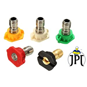 DIFFERENT DEGREE NOZZLES FOR WASHING AT DIFFERENT ANGLES