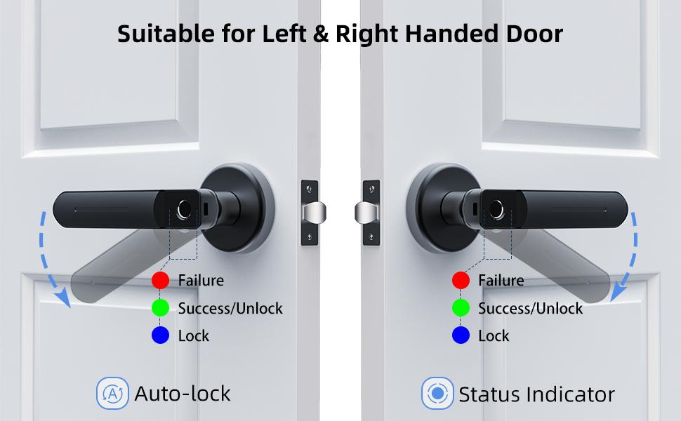 sol ve sağ kapı için uygun