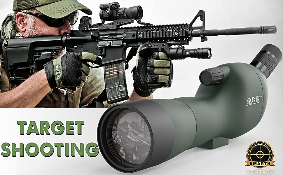 spotting scope for target shooting scope