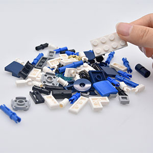 Free assembled building blocks