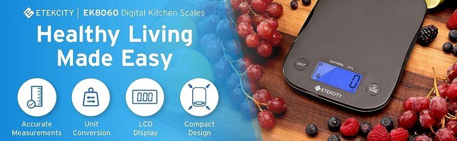 Etekcity kitchen scales