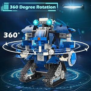 Educational Building Blocks Robot