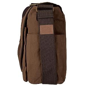 Military Style Vintage shoulder Crossbody Canvas messenger men laptop lunch bags tactical satchel