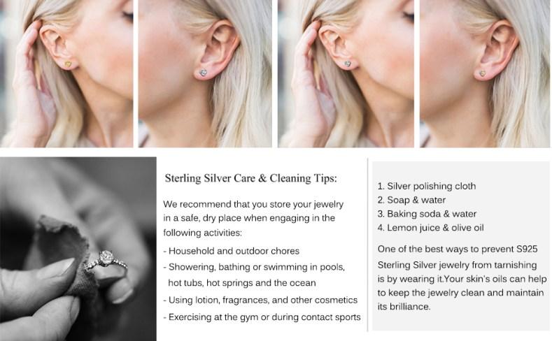 Twisted Love Knot Stud Earrings