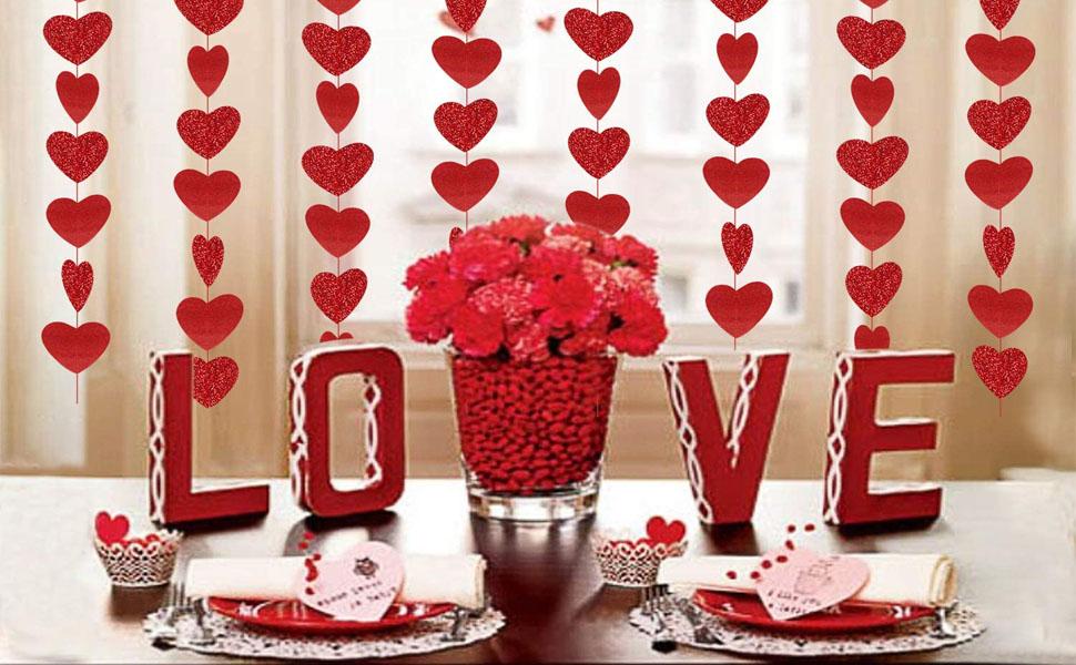 Valentine's Day Glitter Heart