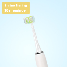 rechargeable electric toothbrush with timer