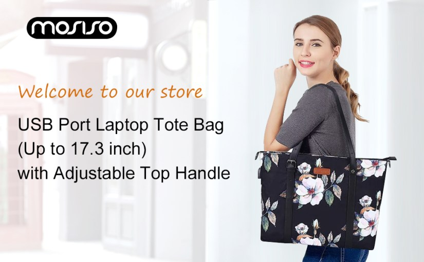 MOSISO Laptop Tote Bag (Up to 15.6 Inch)