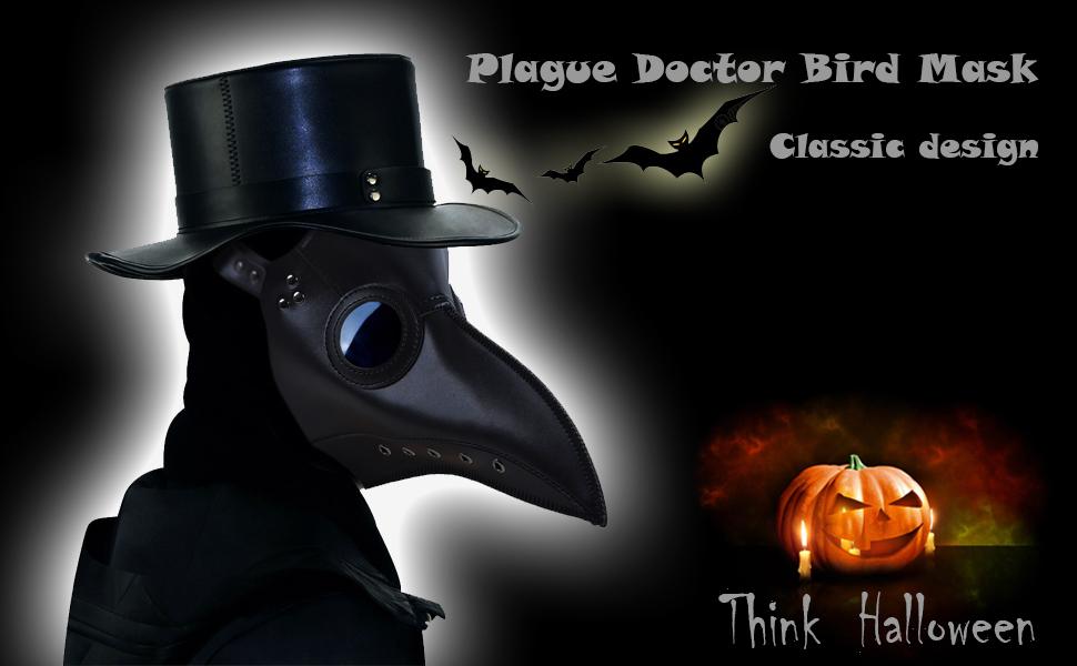 plague doctor bird mask