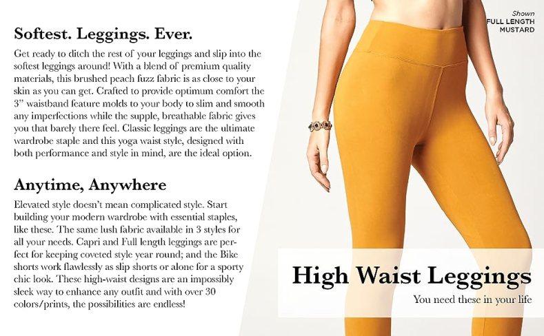 Yoga Waist Leggings