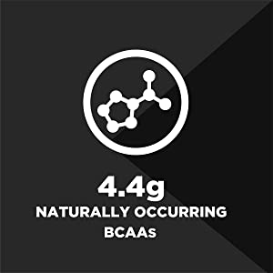 4.4g Naturally occuring BCAAs