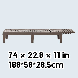 Chaise Lounge size