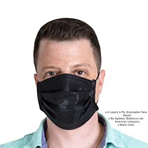 3-ply, disposable 3ply, safety face mask