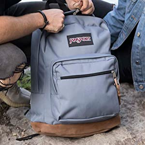 Right Pack backpack. Available in a variety of colors, perfect for anyone on the go.