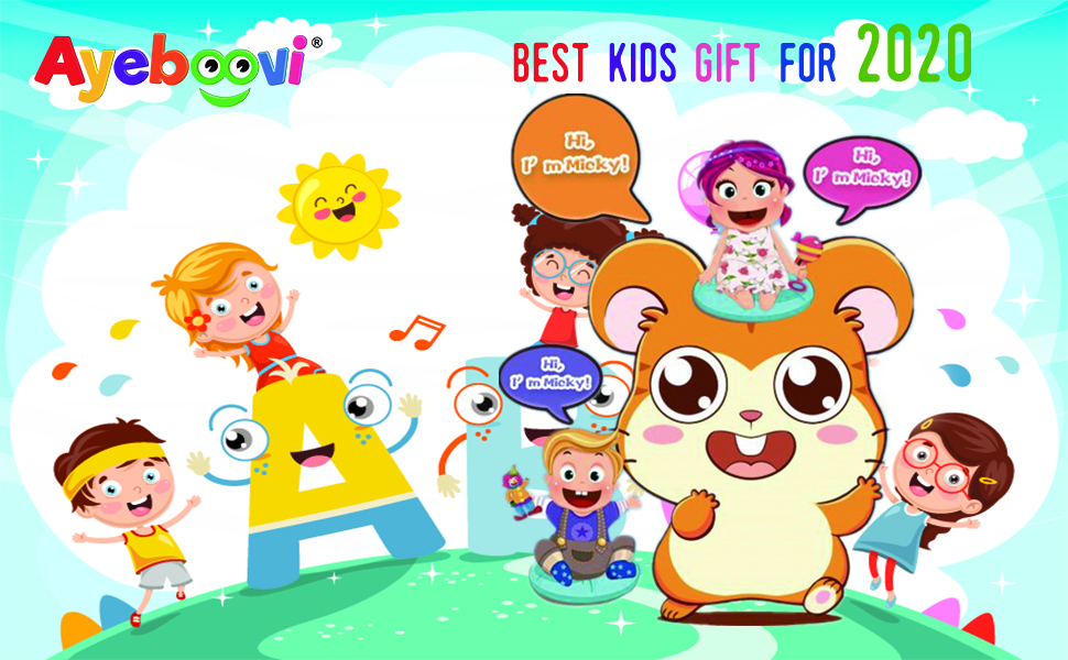 kids gift toddler toys children birthday interactive toy party repeats what you say