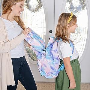 Tie Dye Backpack & Lunchbox