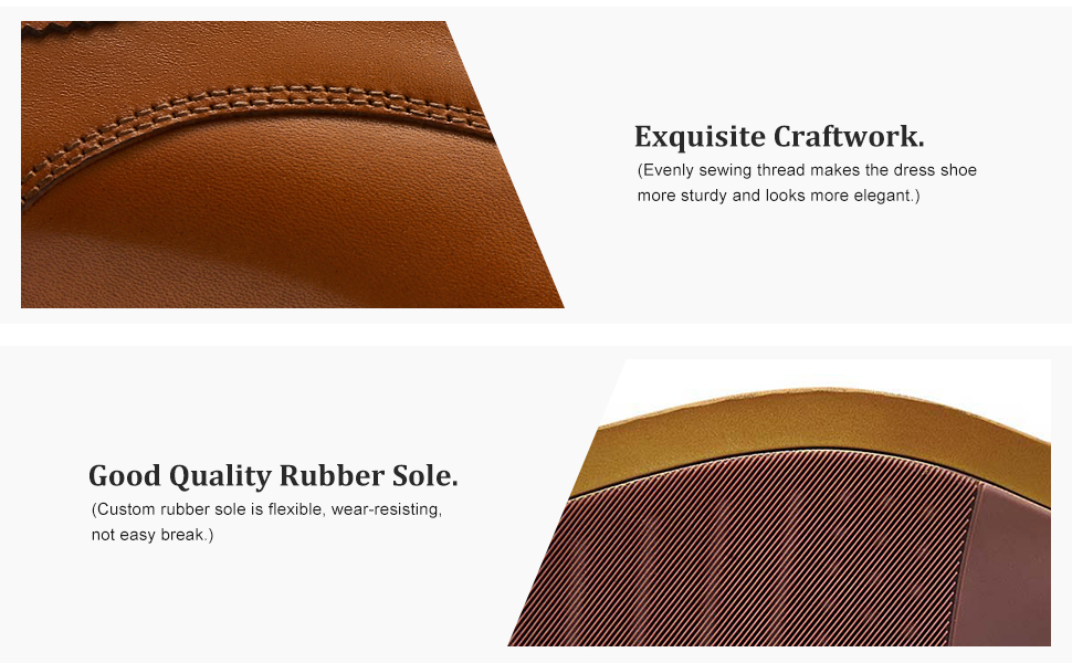 handwork of genuine leather shoes for men