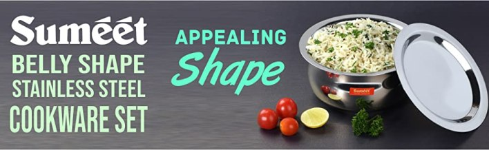 BELLY SHAPE STAINLESS STEEL TOPE