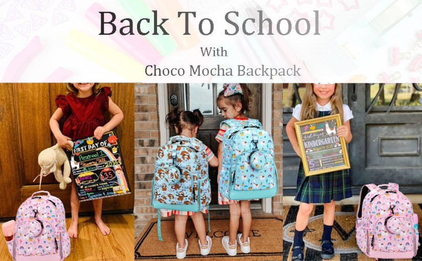 Choco Mocha Sloth Preschool Backpack for Girls