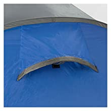 pop up tent single skin air vent