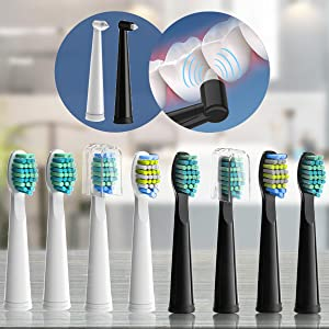 replacement brush heads for electric toothbrush