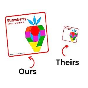 pattern blocks shapes kids learning toys tangram manipulatives for preschoolers block puzzle