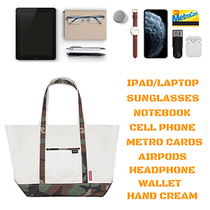 large capacity for storage ipad laptop accessories notebook headphone wallet cell phone sunglasses