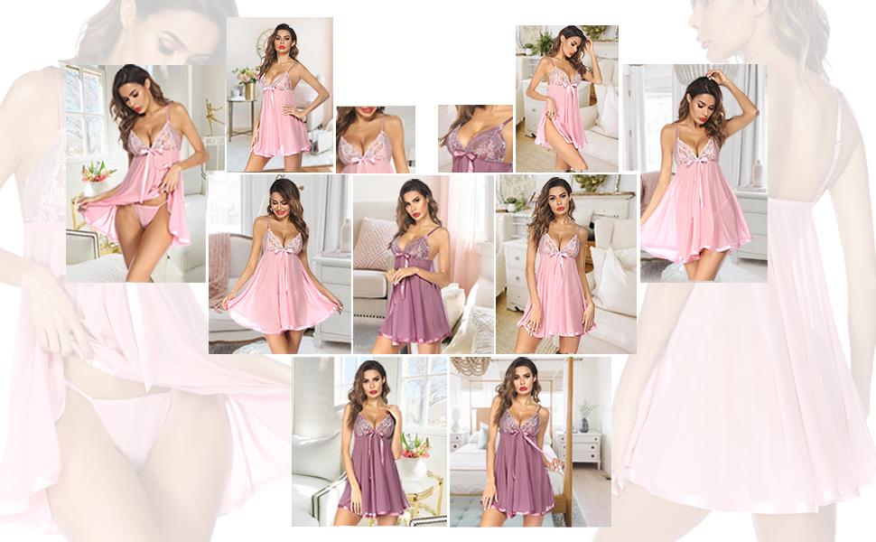 Avidlove lace babydoll wedding lingerie