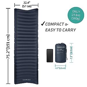 compact sleeping mat
