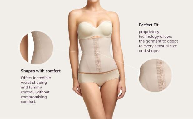 trainer latex vest kardashian faja tank sauna belt slimmer short plunge torsette 360 open bust