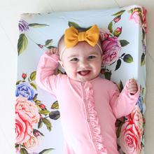 posh peanut, crib sheets, pad covers