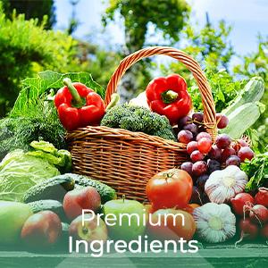 Premium Ingredients