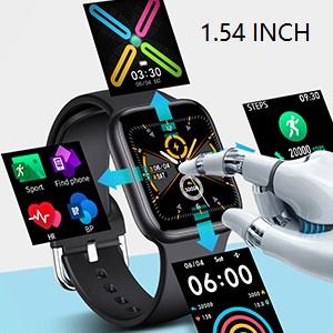 Smart Watch for Women Men 1.54inch