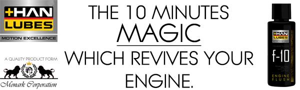 f10 ADVANCE ENGINE FLUSH