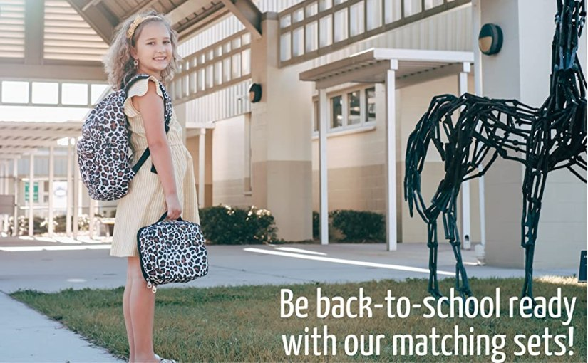 Pair with our matching lunchbox to be back-to-school ready!