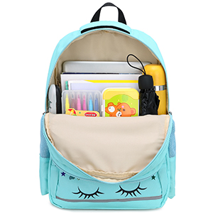 main compartment notebooks school supplies lunch box