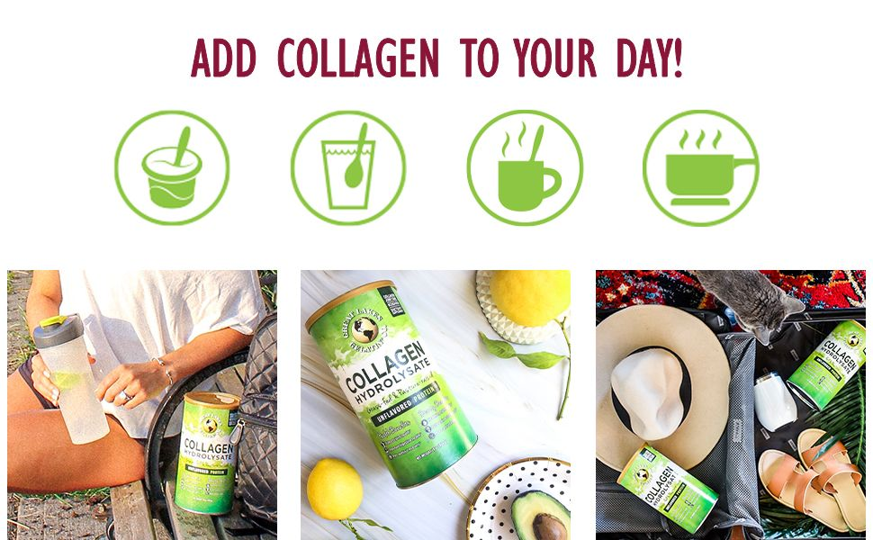 add collagen to your day