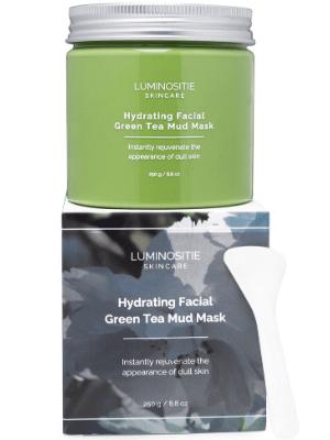 Green tea mud mask