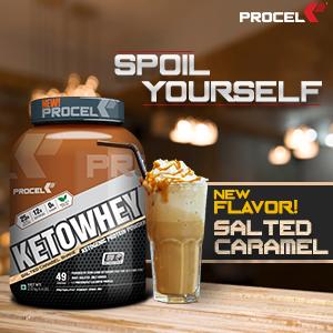 Ketowhey Salted caramel chocolate, Whey protein powder, Whey Isolate powder, Whey Protein Isolate
