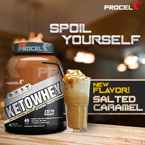 Ketowhey Salted caramel chocolate, Whey protein powder, Whey Isolate powder, Whey Protein Isolate