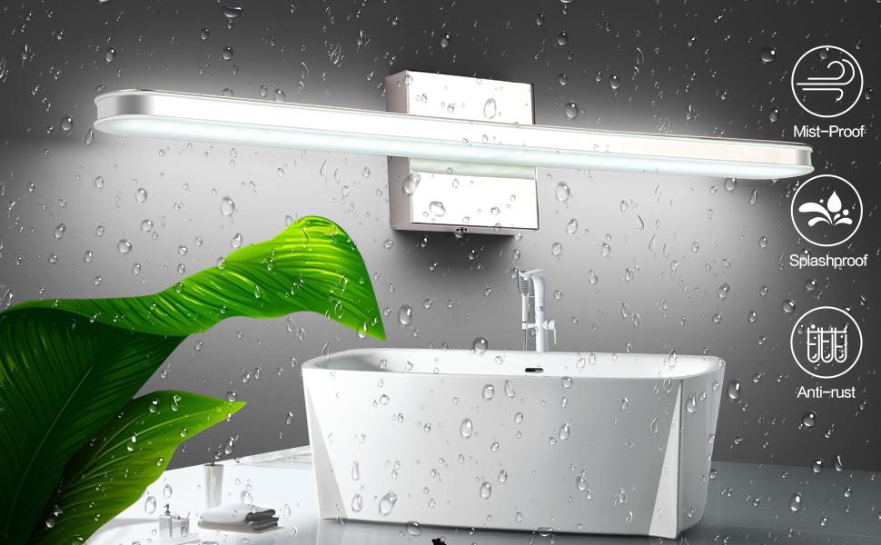 "SOLFART 23.6"" LED Bathroom Vanity Lighting Fixtures Long ..."