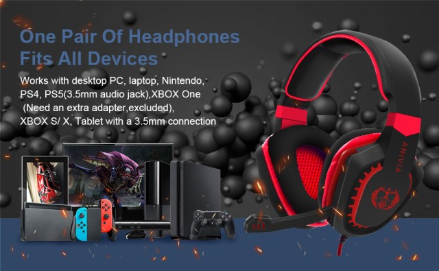 50mm driver headset