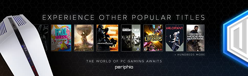 Periphio Portal Experience Other Popular Titles