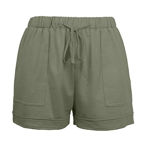 black summer shorts women
