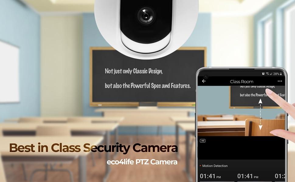 1080p eco4life PTZ camera Best in Class Security Camera