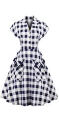 Women 1950s Vintage Dress