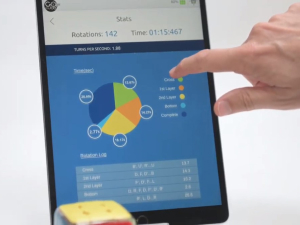 statistics App screen