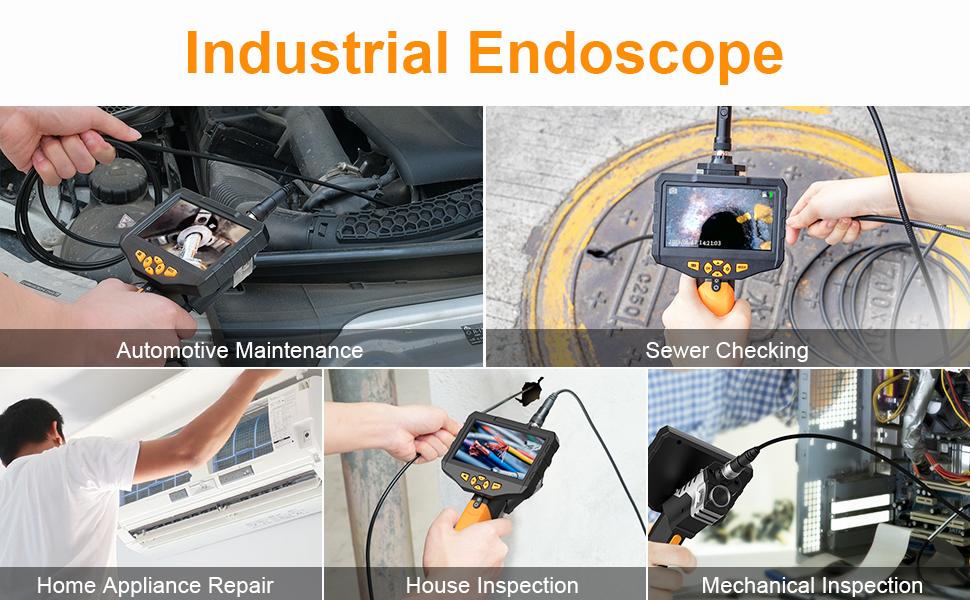 endüstriyel endoskop