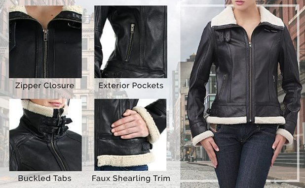 BGSD Women's Leather Features