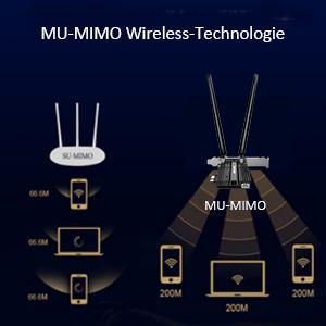 WLAN USB adapter 3000 Mbit / s dual band