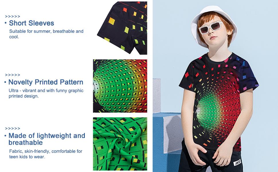 3D Druckte Sommer Tshirts